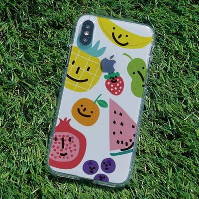 아이폰6S/6S플러스 슬림핏 과일샐러드 소프트젤리케이스