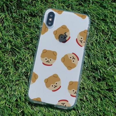 아이폰6S/6S플러스 슬림핏 곰돌포메 소프트젤리케이스
