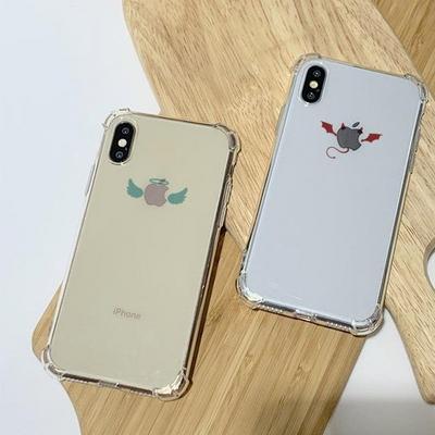 아이폰X/XS 천사와악마 방탄케이스