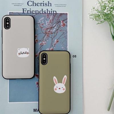 갤럭시S9/S9플러스 써니 동물친구 카드케이스