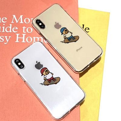 아이폰11 데이빗 스케이트보드 소프트젤리케이스