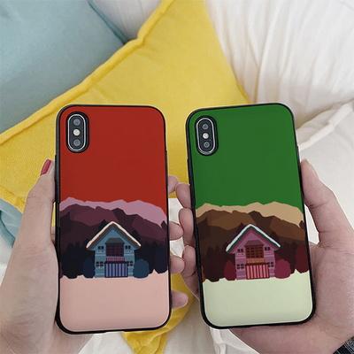 아이폰11 노구 겨울 집2 카드케이스