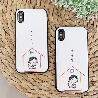 아이폰11 루나 집순이 카드케이스