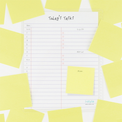 맘대로 DIY 스케줄 보드-노트북 시간표(Notebook Timetable)