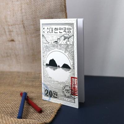 SHIL NOE-실노트세트(애국시리즈-독도)
