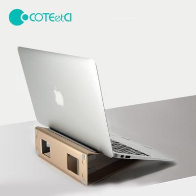 COTEetCl 크리 에이티브 메탈 노트북 거치대 받침대 쿨러
