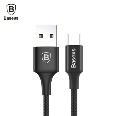 Baseus 베이스어스 LED USB C타입 고속충전 숏 롱 데이터 케이블 갤럭시노트8 S8 25CM 1M 2M