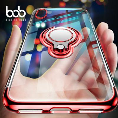bob 소프트 젤리 마그네틱 스마트링 일체형 케이스 갤럭시 S8 S9 S10 E 플러스 노트 8 9 아이폰11 XR XS 맥스