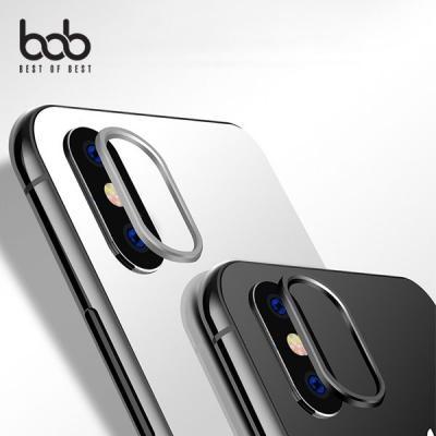 bob 아이폰 카메라렌즈 프로텍터 보호필름+메탈보호링 2세트 iPhone XS 맥스 XR 8 7 플러스