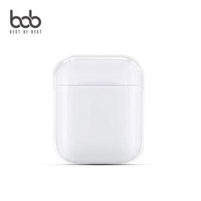 bob 에어팟 클리어 하드 투명케이스 AirPods 유선충전 무선충전 1세대 2세대 호환