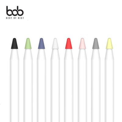 bob 애플펜슬 펜촉 전용 보호커버 펜슬팁 보호캡 Pencil 1세대 2세대 공용 필기감 펜슬케미꽂이