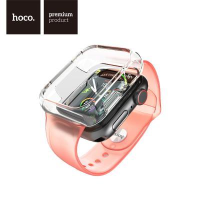 hoco WB09 호코 애플워치 크리스탈 TPU 밴드 일체형 범퍼케이스 AP Watch 1 2 3 4 5 세대