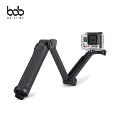 bob 고프로 액션캠전용 3Way 모노포드 3단 셀카봉 핸드그립 삼각대 Gopro Hero 8 7 6 5