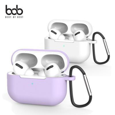 bob 에어팟프로 전용 솜사탕 실리콘 범퍼케이스+버클 AirPods Pro 3세대