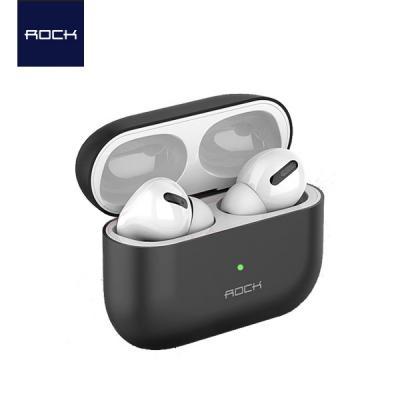 Rock 에어팟프로 전용 초슬림 초경량 TPU 실리콘 케이스+버클 AirPods Pro 3세대