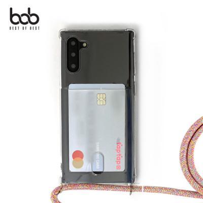 bob 카드업 트래블러 스마트폰 카드수납 숄더스트랩 케이스 갤럭시노트10 플러스 노트9 노트8