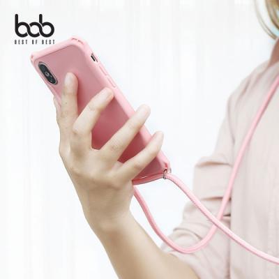 bob 컬러풀 폰스트랩 스마트폰 분실방지 숄더스트랩 케이스 갤럭시A10 e M10 A40 A70