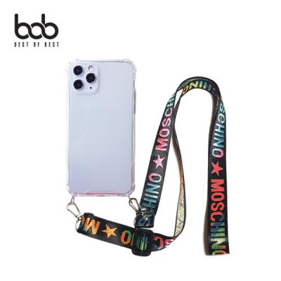 bob 밴디 트래블러 분실방지 숄더 스트랩 핸즈프리 엘지폰 케이스 LG V50 s V40 V30 G8 G7 Velvet 벨벳폰
