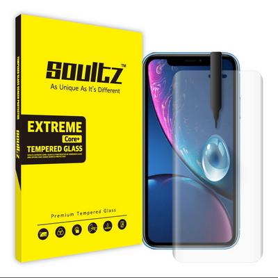 솔츠 아이폰 XR UV 방탄 강화유리 액정보호필름