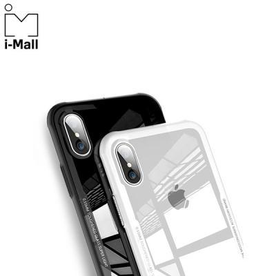 아이폰 6/7/8플러스/XS/MAX 클린 강화유리 범퍼케이스