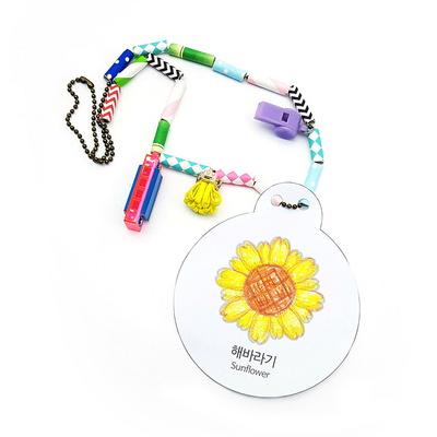 만꾸 여름 꽃목걸이 만들기 (5인 세트)
