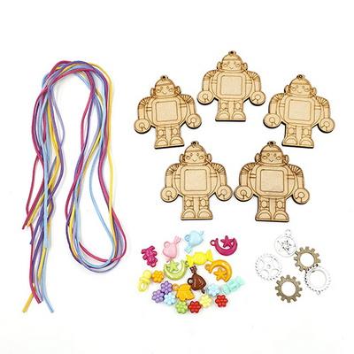 [만꾸] 마이로봇 목걸이 만들기(5인용)
