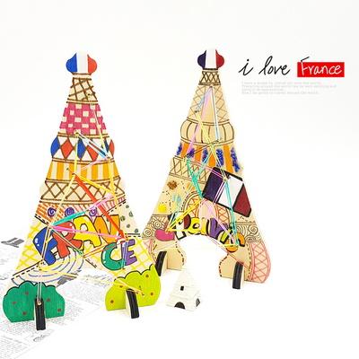 만꾸 세계 여러나라 파리의 에펠탑