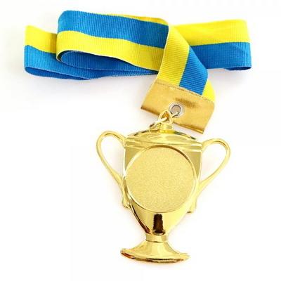 우승 트로피 금메달 (체육대회 상장)