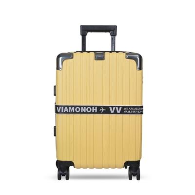 비아모노 VAIF 9035 옐로우 20인치 하드캐리어 여행가방