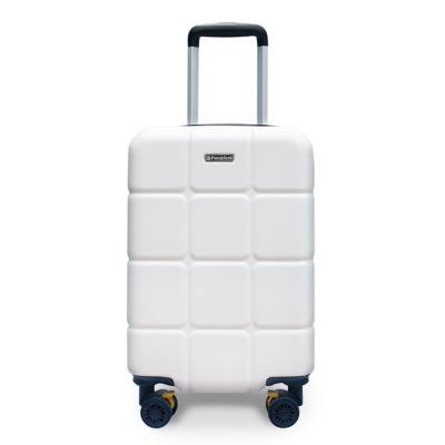 프레지던트 5306 쿠비코 화이트 20인치 하드캐리어 여행가방