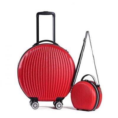 토부그 TBG1849 라이트 레드 9인치 16인치 기내용 캐리어 크로스백 미니백 하드캐리어 여행가방