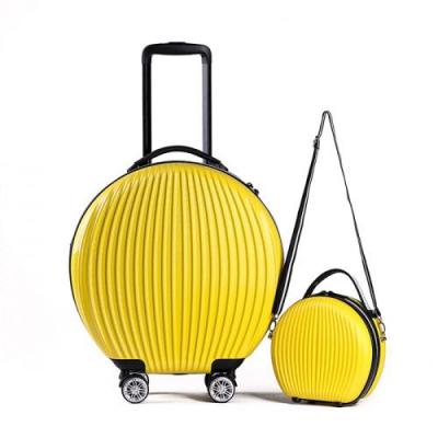 토부그 TBG1849 옐로우 9인치 16인치 기내용 캐리어 크로스백 미니백 하드캐리어 여행가방