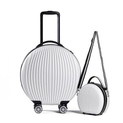 토부그 TBG1849 화이트 9인치 16인치 기내용 캐리어 크로스백 미니백 하드캐리어 여행가방