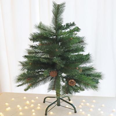 90cm 파인콘 크리스마스 트리 나무