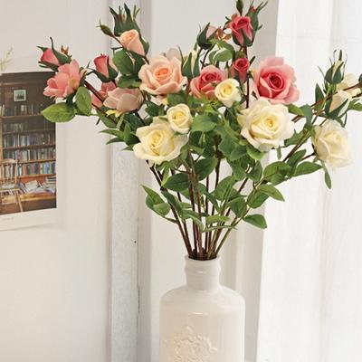 고급스러운 무드의 소피아 로즈 3color - 인테리어조화 실크플라워