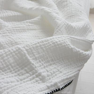 밀크 3중거즈 블랭킷 담요 4colors