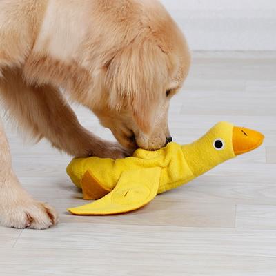 강아지 오리 노즈워크 삑삑 인형 장난감