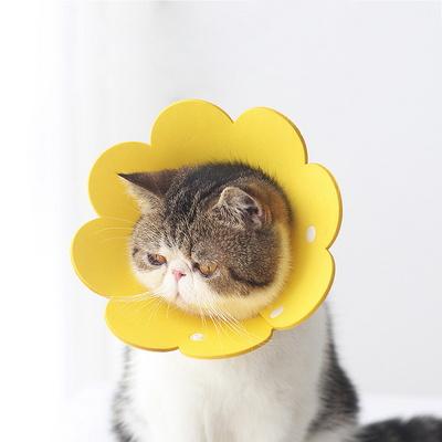 고양이 강아지 소프트 방수 플라워 넥카라 실속형 3P