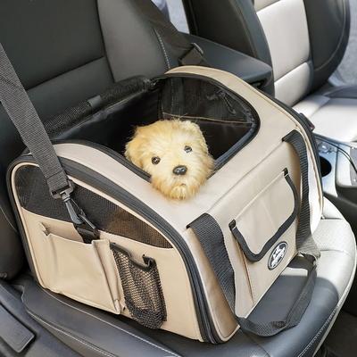 강아지 가방형 카시트 이동장 기내가방