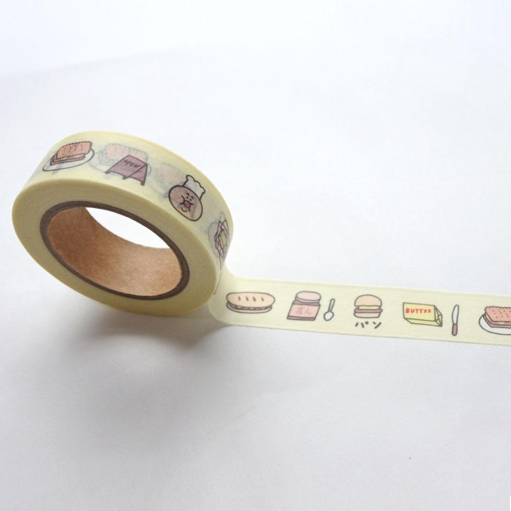 앙버터 마스킹 테이프 - 크래커스토어, 5,500원, 마스킹 테이프, 종이 마스킹테이프