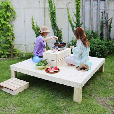 정원벤치 옥상평상 DIY 테라스가구 대형 무도장