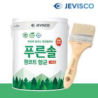 원코트 실내용 페인트 3L 젯소필요없음 수성페인트 제비스코 실내용 셀프인테리어 곰팡이방지