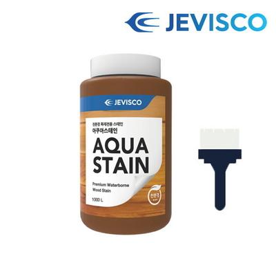아쿠아스테인 302 백색 1.0L 친환경 셀프목재페인트
