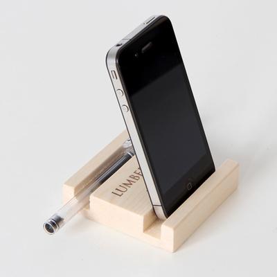 원목 멀티홀더 (스마트폰+패드+명함 거치기능)