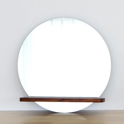 멀바우 원목 큰 선반 거울