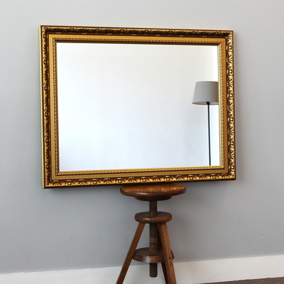 와이드벽거울 750골드-930x730