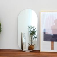 노프레임 타원형 벽거울