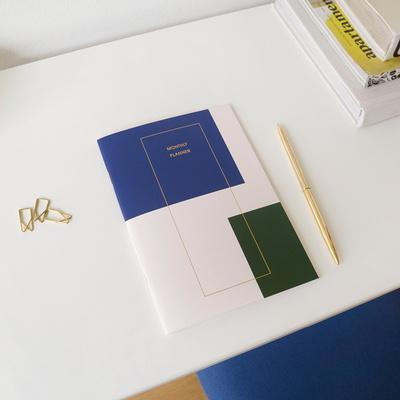 네모 먼슬리 플래너 (cover 포함) (4 types)