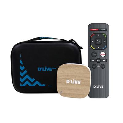 딜라이브플러스 HD OTT 셋탑박스 H3 넷플릭스지원 전용케이스 /ABC
