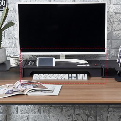 에코모니터메인받침대-블랙색상 컬러에코보드9T